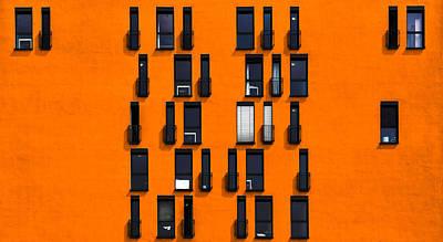 Windows Photograph - Windows by Stefan Krebs