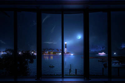 Photograph - Windows To The Lighthouse by Mark Andrew Thomas