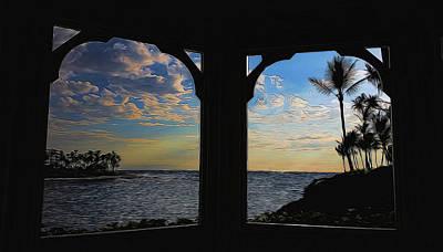 Mixed Media - Windows To The Soul by Pamela Walton