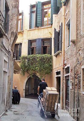 Garden Fruits - Windows to the Street. by Elena Perelman