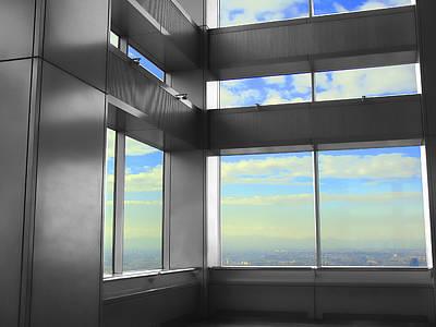 Photograph - Windows To Tokyo by Roberto Alamino