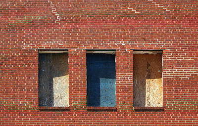Photograph - Windows Without A View by Cate Franklyn