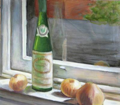 Windowsill Still Life Art Print