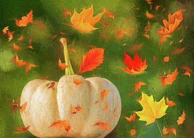 Winds Of Autumn Art Print