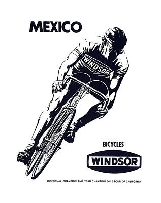 Ike Photograph - Windsor Bicycles Of Mexico  1973 by Daniel Hagerman