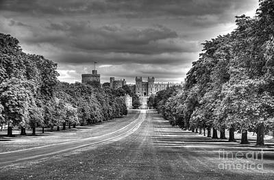 Windsor Castle  Infrared Art Print
