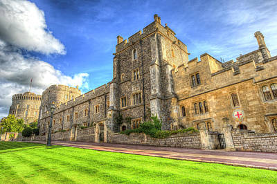 Photograph - Windsor Castle Architecture by David Pyatt