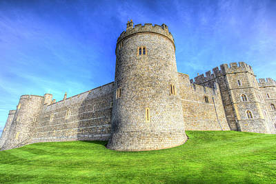 Photograph - Windsor Castle Battlements  by David Pyatt