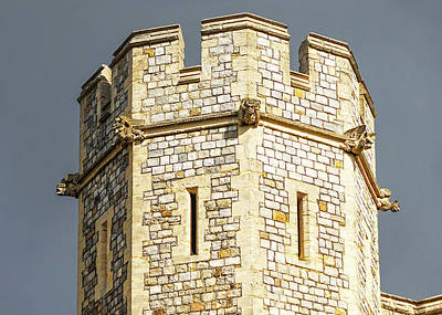 Photograph - Windsor Castle Detail by Joe Winkler