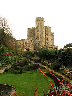 Fantasy Royalty-Free and Rights-Managed Images - Windsor Castle in Winter by Amanda Barcon