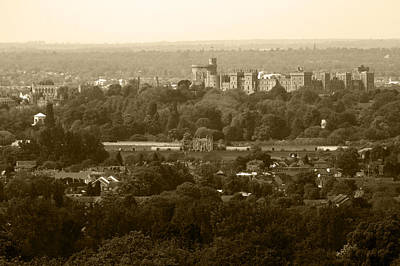 Photograph - Windsor In Sepia by Chris Day