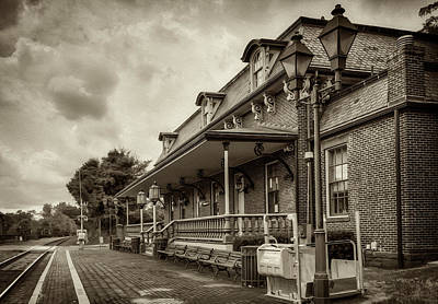Photograph - Windsor Railroad Station by Phil Cardamone