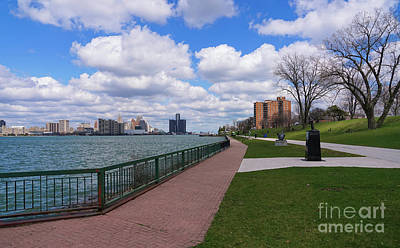 Photograph - Windsor Riverwalk by Rachel Cohen