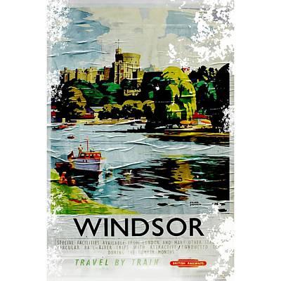 Digital Art - Windsor by Roger Lighterness