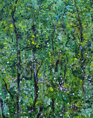 Painting - Windsor Way Woods by Judith Rhue