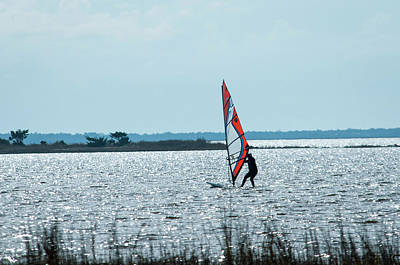 Photograph - Windsurfer by Brian Green