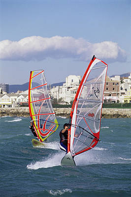 Surf Lifestyle Photograph - Windsurfing by Alexis Rosenfeld