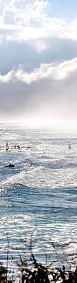 Photograph - Windsurfing by Jerry Kalman