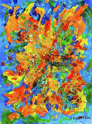 Painting - Windswept 1 by Jo-Anne Gazo-McKim