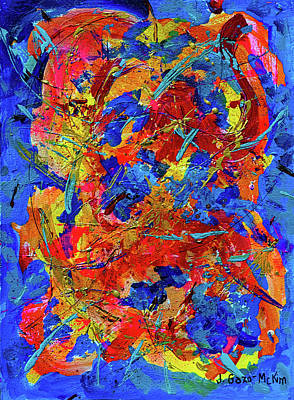 Painting - Windswept 2 by Jo-Anne Gazo-McKim