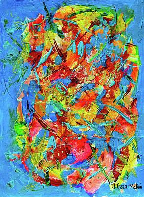 Painting - Windswept 3 by Jo-Anne Gazo-McKim