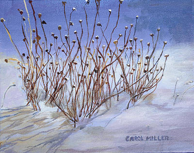 Painting - Windswept by Carol L Miller