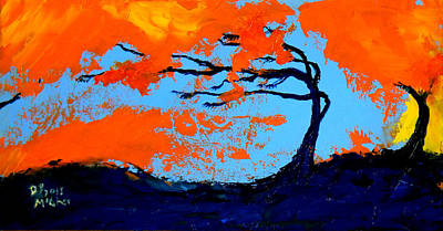 Painting - Windswept by David McGhee