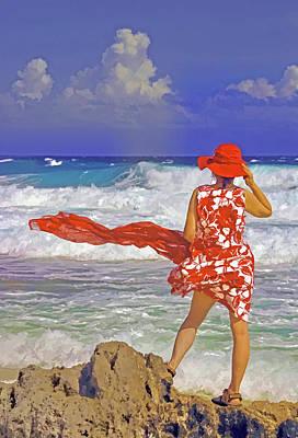 Windswept Art Print by Dennis Cox WorldViews