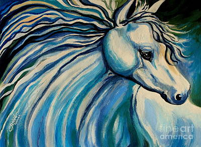 Painting - Windswept by Elizabeth Robinette Tyndall