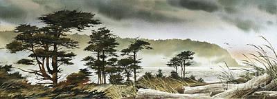 Windswept Shore Original by James Williamson