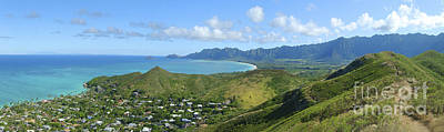 Windward Oahu Panorama IIi Art Print