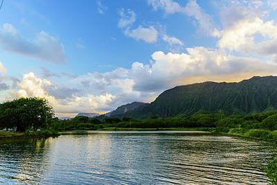 Photograph - Windward Oahu Sunset 1 by Jason Chu