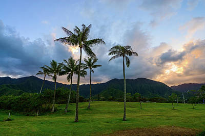 Photograph - Windward Oahu Sunset 2 by Jason Chu