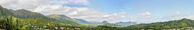 Photograph - Windward Panorama 1 by Leigh Anne Meeks
