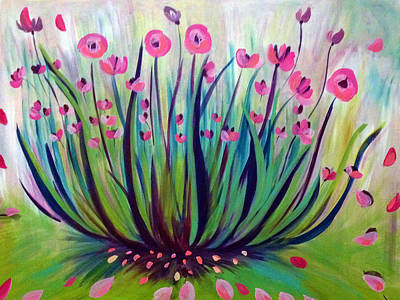 Painting - Wild Native Plants by Patricia Lazaro