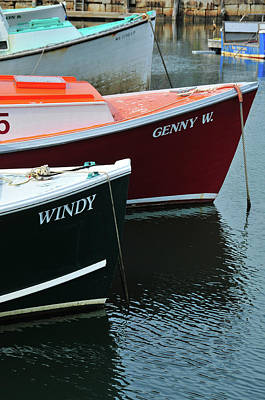 Photograph - Windy Beside Genny W by Mike Martin