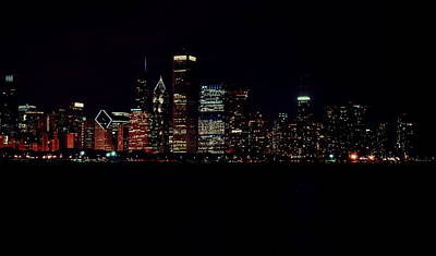 Photograph - Windy City Lights by Emily Stauring