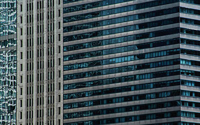 Photograph - Windy City Perspective II by Michael Nowotny
