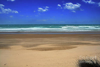 Photograph - Windy Day At Oxley Beach 3 By Kaye Menner by Kaye Menner