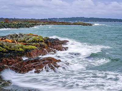 Photograph - Windy Day By The Sea by Keith Boone