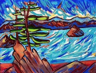 Painting - Windy Day by Nikki Dalton