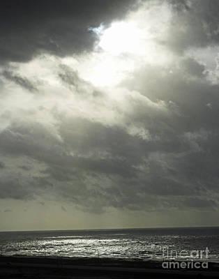 Photograph - Windy Daybreak Perdido Key Fl by Lizi Beard-Ward