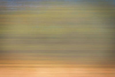 Abstract Digital Photograph - Windy Dreamy Sunrise by Skip Willits