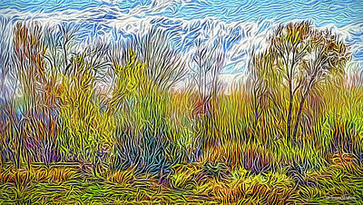 Digital Art - Windy Field Day by Joel Bruce Wallach
