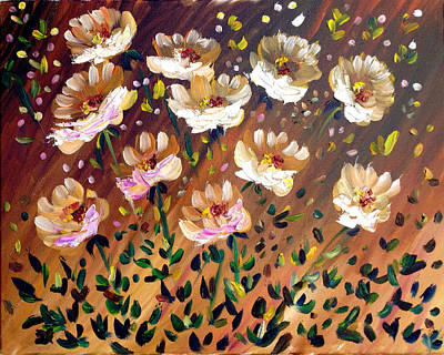 Painting - Windy Garden by Patricia Lazaro