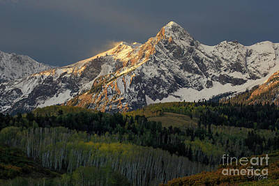 Photograph - Windy Mountain by Doug Sturgess