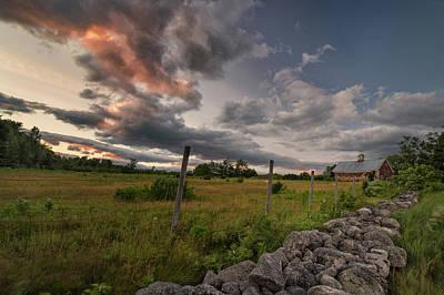 Photograph - Windy Night On The Farm by Darylann Leonard Photography