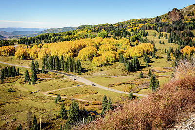 Photograph - Windy Point View - Cumbres Pass - Colorado 1 by Debra Martz