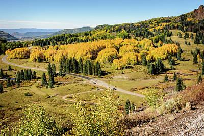 Photograph - Windy Point View - Cumbres Pass - Colorado 2 by Debra Martz