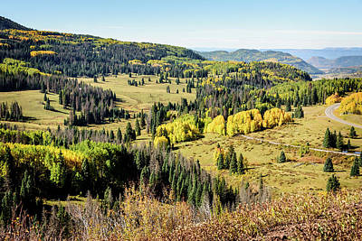 Photograph - Windy Point View - Cumbres Pass - Colorado 3 by Debra Martz